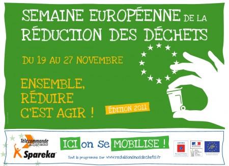 SERD, Semaine Européenne, Réduction des Déchets, ADEME, Spareka, Télécommande Express, mobilisation, prévention, action